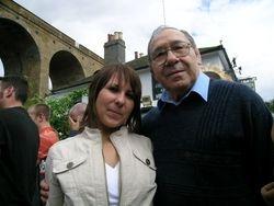 Peter Szakacs and grand daughter