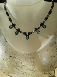 marcasite necklace