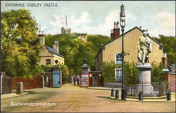 Castle Entrance. 1910.