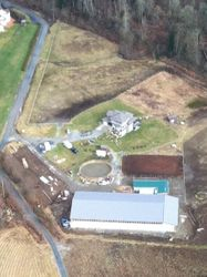 Ariel view of part of property