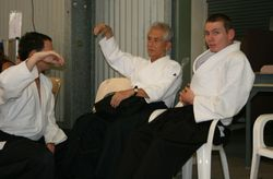 Our Instructor Barry, Aaron Bright and Maruyama Sensei