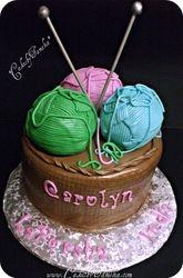 A Basket Of Yarn Cake