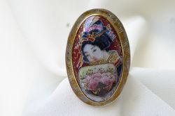 "Geisha Portrait ""RING"" SOLD"