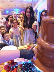 Chocolate fountain hire serving 900 guests