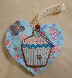 Cupcake Love heart