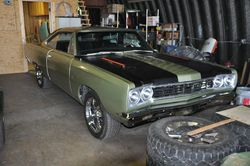 7. 69 Plymouth Roadrunner Coupe