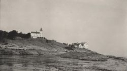 Discovery Island Light station in the 1930s