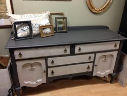 Painted Vintage Buffet