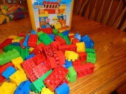 MegaBloks Duplo Bucket with 100+ Blocks - $15