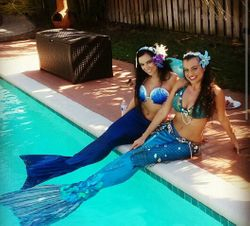Mermaids Poolside