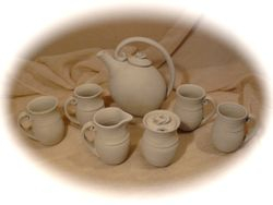 ~Teapot Set Drying~