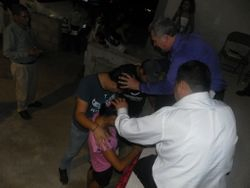 Brother Tulio Praying for the Children
