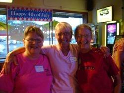 Deb White, Martha Oxenford Noah and Stephanie Maxwell McAdam