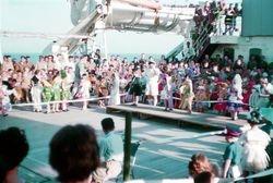 X 40 Cdo Families Malta to Singapore 1962