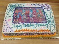 Monsters High Cake