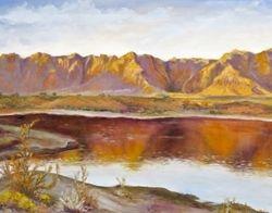 Sunset at Ivins Reservoir