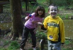 Matlyn and JT Fishing