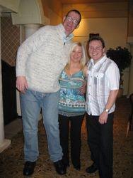 Paul Marron with TM/FE Hayling Island Jan 2009