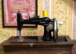Mennonite Sewing Machine