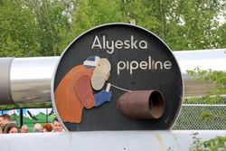Alaskan Pipeline visit - Fairbanks