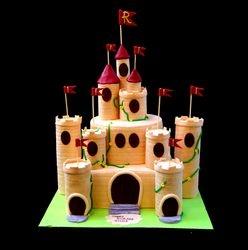 Castle themed Cake