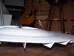 Building the Saucer Section -  pic 43