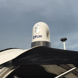 Raymarine Axiom 9 & Flir Thermal Camera & on a 29 ft Chaparral