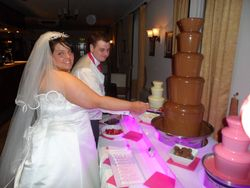 Chocolate fountain hire, The stables high melton Doncaster