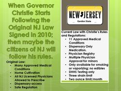 Gov Christie Follow the Law