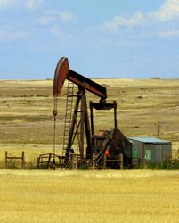 Oil Rig on the Plains