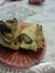 Kit Kat in a Cupcake