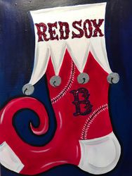 Holiday Stocking (Red Sox)