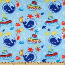 Whales & Tugboats - FLEECE B63