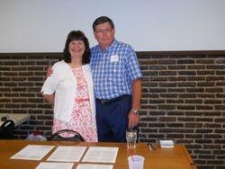 Linda Biermann Hoobin and Gary Scrutchfield