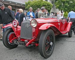1929 Alfa Romeo 1750 SS Zagato Spider