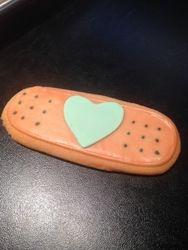 Bandaid Cookies