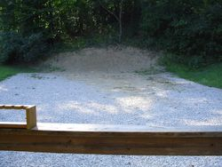 Pistol Range #1 View from Firing Line