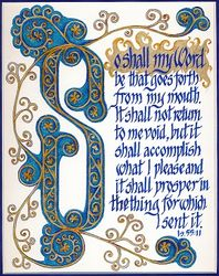So Shall My Word - Is.55:11