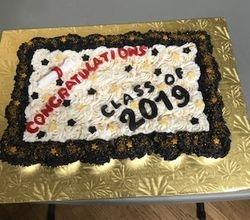 Graduation Cupcake Cake