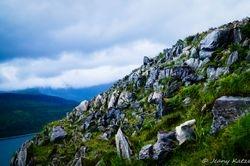The cliff of Camas Lamac - Isle of Skye