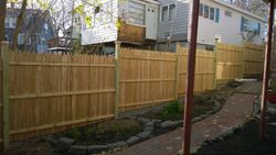 Completed Privacy Fence Image 1