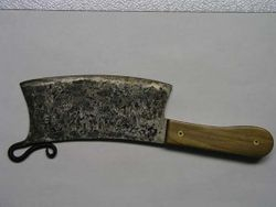 forged cleaver