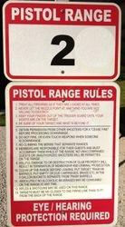 Pistol Range #2 Rules
