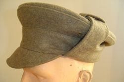 OR's Bor-Blimey cap, green serge £60