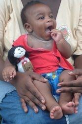Barbaras Village, Jamaica- visiting grandson