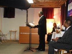 Bishop Cole Brings Word of God