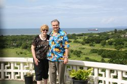 Lynda and Randy on Fiji
