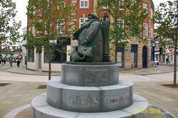 Giles Statue