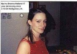 Brianna Maitland:Missing 3-19-2004--VT..