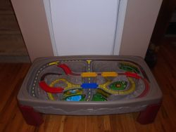 Step 2 Deluxe Canyon Road Train & Track Table - $55